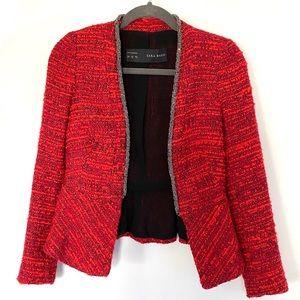 Zara bouclé blazer - XS
